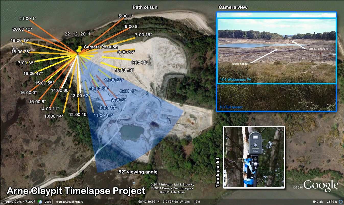 Arne claypit timelapse project plan