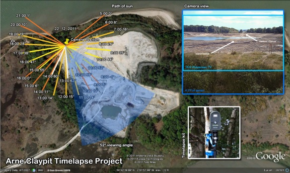 Arne claypit timelapse project plan