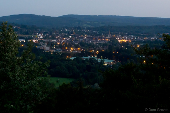 Dorking at night