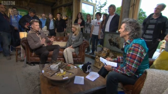 BBC Springwatch studio broadcast