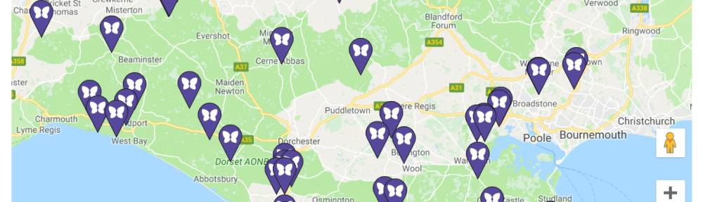 Butterfly data: map