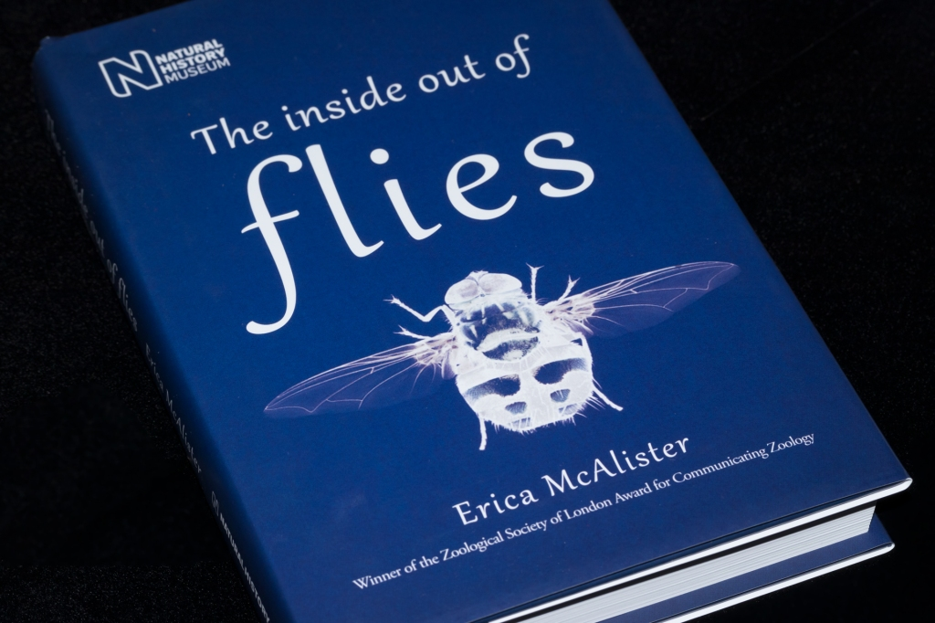 Cover of book on flies